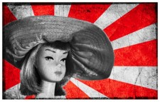 Visit Japan - red